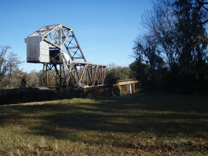 Railroad Bridge over Altamaha River at Old Doctortown (SE Georgia)