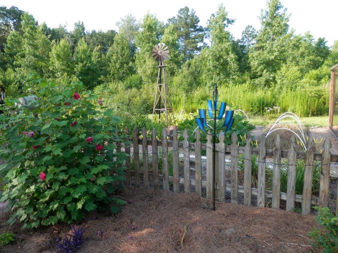 New Windspinner in the Garden