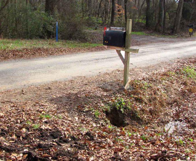Rural-Mailbox-Post