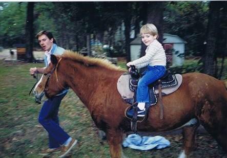 Daniel on a pony